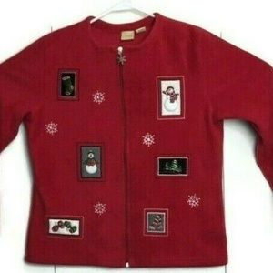 CC Hughes Ugly Christmas Fleece Sweater